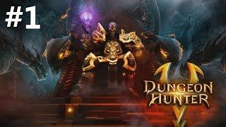 getlinkyoutube.com-Dungeon Hunter 5 Android GamePlay Part 1 (1080p)
