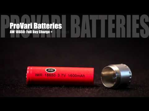 ProVape Electronic Cigarette Batteries and Battery Chargers