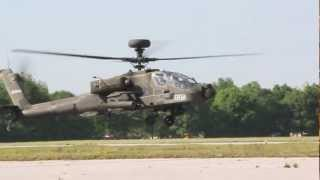 getlinkyoutube.com-AH-64 Army Attack Helicopter startup,takoff and low pass
