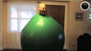 getlinkyoutube.com-Człowiek balon !!! :)