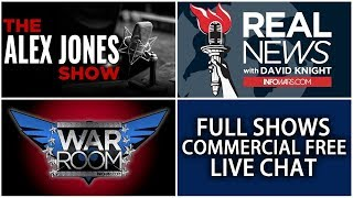 LIVE 📢 Alex Jones Infowars Stream With Today's Shows Commercial Free • Tuesday 12/12/17