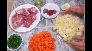 getlinkyoutube.com-لحم مبخر مع الخضر