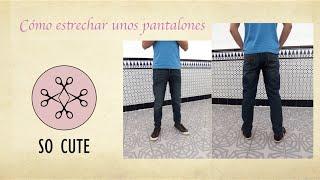 getlinkyoutube.com-Cómo estrechar un pantalón DIY