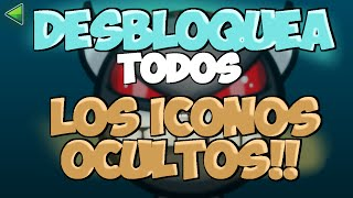 getlinkyoutube.com-DESBLOQUEA TODOS LOS ICONOS OCULTOS GEOMETRY DASH 2.0