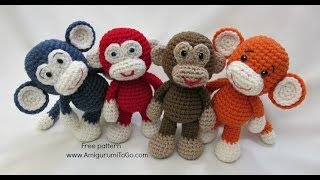 getlinkyoutube.com-Crochet Along Bigfoot Monkey 2014