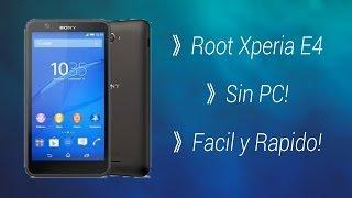 ▶Como Rootear Xperia E4/Sin PC/Fácil y Rápido/2016/KingoRoot