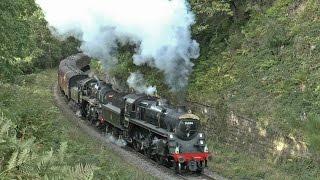 getlinkyoutube.com-North Yorkshire Moors Railway -  Autumn Steam Gala 2016