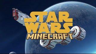 getlinkyoutube.com-MINECRAFT STAR WARS MOVIE - EPISODE 1 - 3 MODS IN 1 MAP - Minecraft Showcase