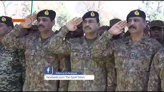 Pak Army martyrs funeral prayers of Swat blast | COAS |