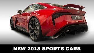 10 All-New Sports Cars to Go on Sale in 2018-2019