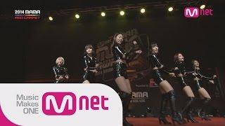 getlinkyoutube.com-AOA - 짧은치마(Miniskirt) + 사뿐사뿐(Like a cat) at 2014 MAMA Red Carpet