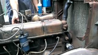 getlinkyoutube.com-1938 Chevy first start 216 engine.