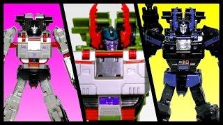 getlinkyoutube.com-트랜스포머 메가트론 삼총사 디셉디콘 대장 탱크 로봇 변신장난감 동영상 Transformers MegaTron Trio 3Styles Color Tank Transformation