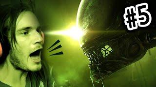 getlinkyoutube.com-FIRST ALIEN ENCOUNTER! - Alien Isolation - Gameplay Walkthrough - Part 5