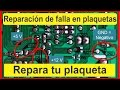 Reparacion de plaqueta de microondas     Micro-ondas placa Repair