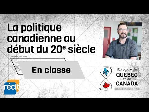 La politique canadienne au début du 20e siècle