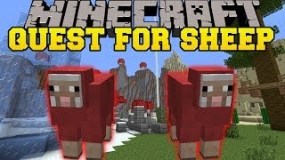 getlinkyoutube.com-Minecraft: QUEST FOR SHEEP (PROTECT YOUR SHEEPS AT ALL COSTS!) Mini-Game