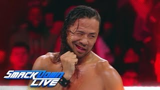 Take a closer look at Royal Rumble Match Winner Shinsuke Nakamura: SmackDown LIVE, Feb. 20, 2018