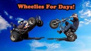 getlinkyoutube.com-Go Kart & Mini Bike Wheelies