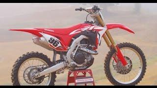 getlinkyoutube.com-2017 Honda CRF 450 - Dirt Bike Magazine