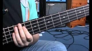 Muse - Hysteria BASS TUTORIAL - Nick Latham