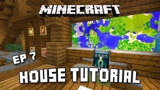 getlinkyoutube.com-Minecraft House Tutorial:  Modern Interior Design Ideas  (Scarland Fishing Cabin Part 7)