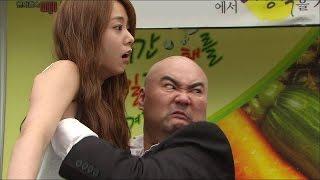 【TVPP】Seungyeon(KARA) - Trouble with Gangster, 승연(카라) - 맥주 마시다 조폭과 시비 붙은 가을 @ Jang Bori is Here