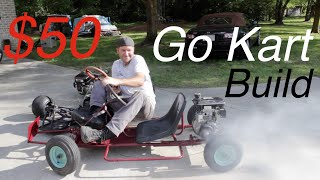 getlinkyoutube.com-The $50 Go Kart Build!