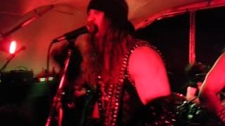 Destroyer666 - Black Fire - Black City live in Stockholm 12/01/2012