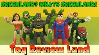 Imaginext Green Lantern Featuring Batman, Green Arrow, Superman, and Wonder Woman!