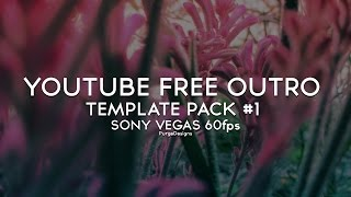 getlinkyoutube.com-Free YouTube Outro Template Pack #1 Download *ANIMATED* Sony Vegas Pro 11/12 [60fps]