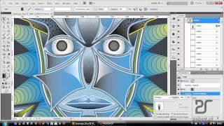 getlinkyoutube.com-Kurs Illustrator CS5 - tryby krycia i wykorzystanie gradientów do tworzenia światłocienia