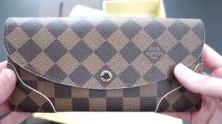 getlinkyoutube.com-Louis Vuitton Caissa Wallet ( Rose Ballerine )