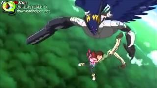 getlinkyoutube.com-Digimon Xros Wars - Episode 18 - Falling Scene
