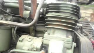 getlinkyoutube.com-Газ 66 двигатель ОМ 366 раздатка УРАЛ