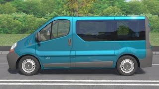getlinkyoutube.com-Renault Trafic II 2001 drive (Links) - Racer: free game