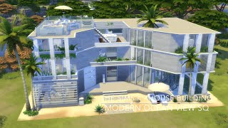 getlinkyoutube.com-The Sims 4 - House Building - Modern Ocean View SQ