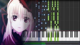 getlinkyoutube.com-【FULL】 K Project (アニメ「K」): Return of Kings OP - {by Yui Horie} Asymmetry (Piano Synthesia + Sheet)