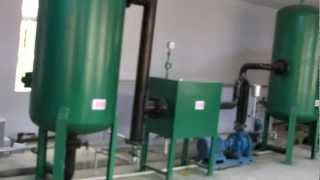 getlinkyoutube.com-100kw biomass gasification power plant, wood chips gasifier for 100KW genset, plastic waste gasifier