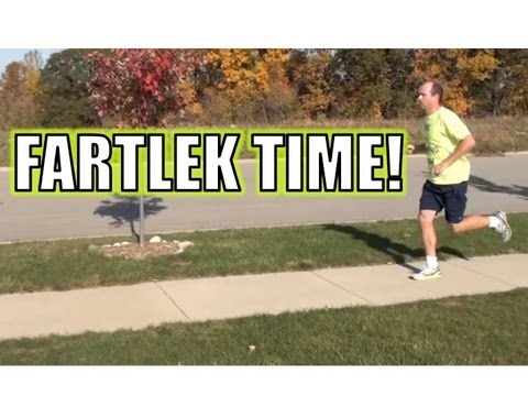 Fartlek - A Great Running Workout Where You Play With Speed