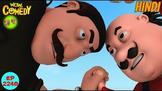 Kushti Ka Mukabla - Motu Patlu in Hindi - 3D Animated cartoon series for kids - As on Nick