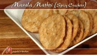getlinkyoutube.com-Masala Mathri - Spicy Crackers Recipe by Manjula