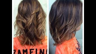 getlinkyoutube.com-Nam Nguyen - How To: Ombre your Hair/Balayage for Short Hair