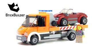 getlinkyoutube.com-Lego City 60017 Flatbed Truck - Lego Speed Build