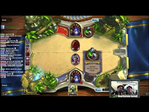 (TURNAJ Z RE-LOAD) Hearthstone : eSuba Alesh vs Jirasul