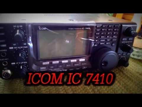 Mein Neuer Tranceiver ICOM IC7410 ( Auspacken )