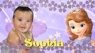 getlinkyoutube.com-Sophia - 1 ano - Melhor Retrospectiva Princesa Sofia Diferente