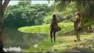 Crocodile Is Eating the Woman   Very Sad Video