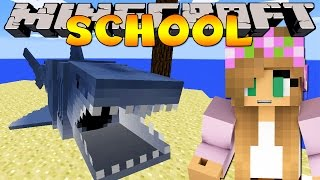 getlinkyoutube.com-Minecraft School : JAWS - SHARK FIELD TRIP!