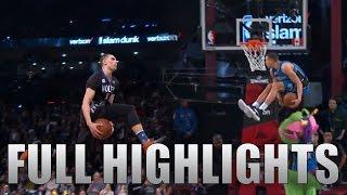 getlinkyoutube.com-2016 NBA Dunk Contest ALL Zach LaVine & Aaron Gordon DUNKS in HD!